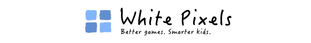 White Pixels | Better games. Smarter kids.